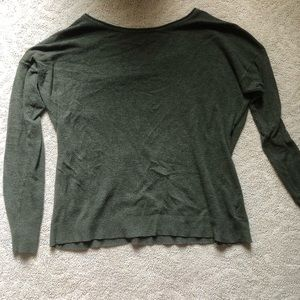 American Eagle Green Sweater: Ahh-Mazingly Soft